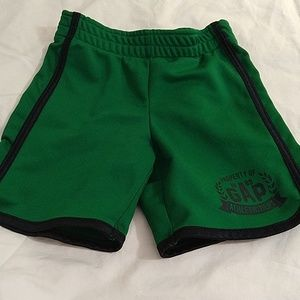 BabyGap green athletic shorts